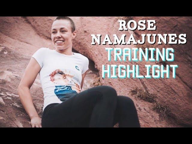 Rose Namajunas Training Highlight   Training World