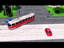 Проезд регулируемых перекрестков Как правильно разъехаться с трамваем