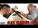 Axe Tomahawk Axe Handling 6 SAMICS Daily Training