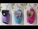 2 Ways to do Backpack Trinket Tutorial For Keys and to Gift 2 легких способа сделать брелок сумку