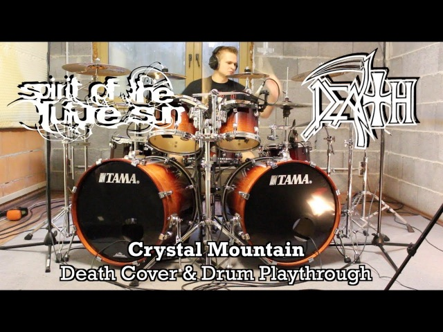 Death - Crystal Mountain (Drum Playthrough Full Band Cover)