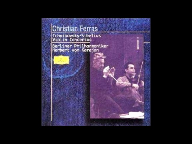 Sibelius - Keman Konçertosu D minor Op.47 Karajan Berlin Filarmoni 1964