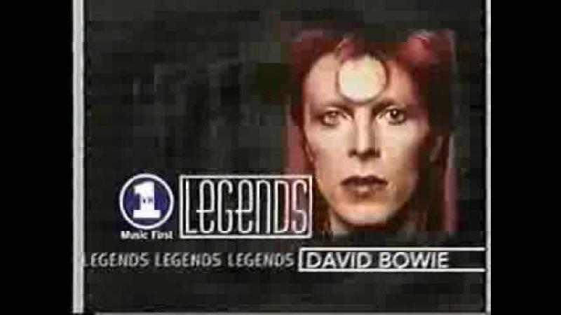 VH1 Legends David Bowie (1998 VHS INCOMPLETE RECORDING)
