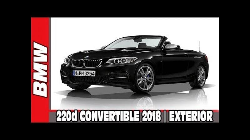BMW 220d CONVERTIBLE 2018   EXTERIOR DESIGN