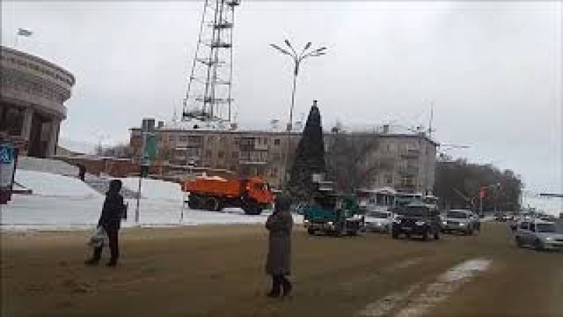 КАРАГАНДА. По Советскому - Бухар жырау в поисках Нового года. Или - новогодних ёлок.