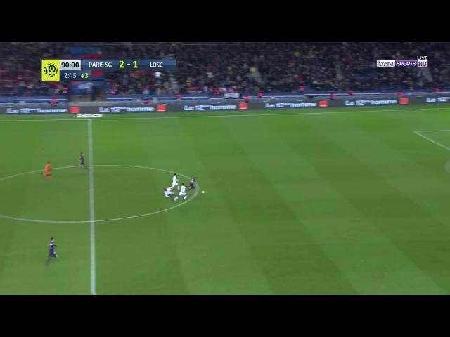 Kylian Mbappe Goal! - PSG Vs LOSC Lille - [3]-1 - Ligue 1 Matchday 17