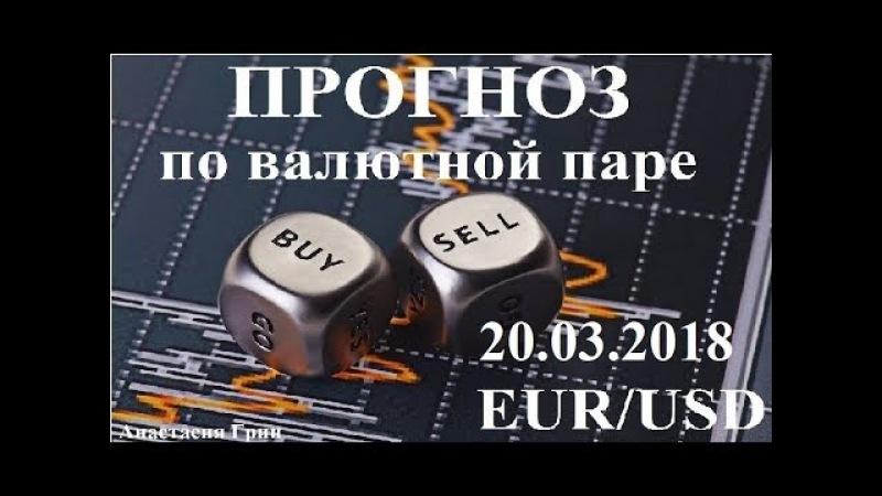Прогноз по евро доллар (EUR/USD) на 20.03.2018