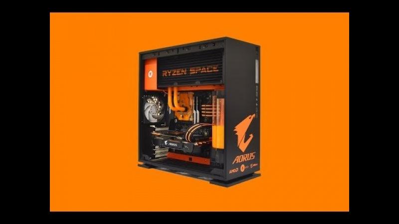 RYZEN SPACE - 3000 € - Custom GAMING PC - case mod
