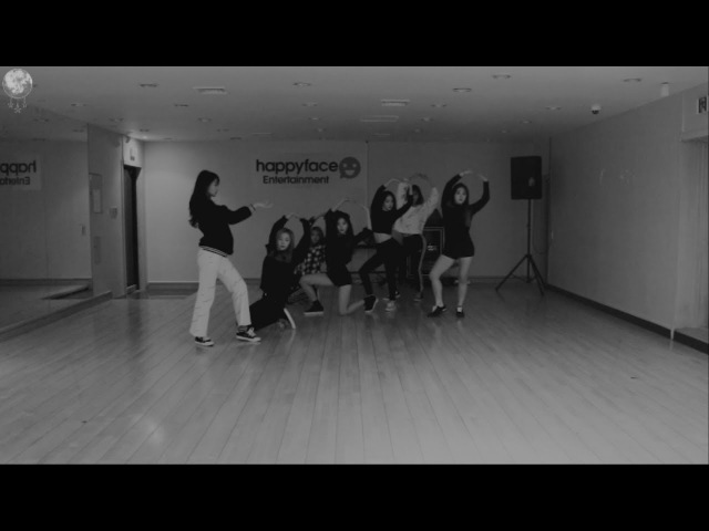 DREAMCATCHER(드림캐쳐) Full Moon 안무영상(연습실 VER.)
