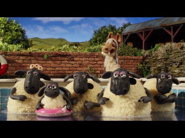Барашек Шон: Фермерский бедлам 2015 трейлер