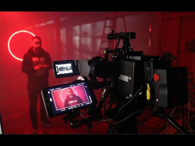 Shooting a music video with Neon Lights