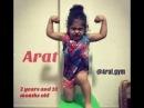 Arat Hosseini Arat Gym Part 2 Baby Body Builder Spider man Spider Baby 4 years old
