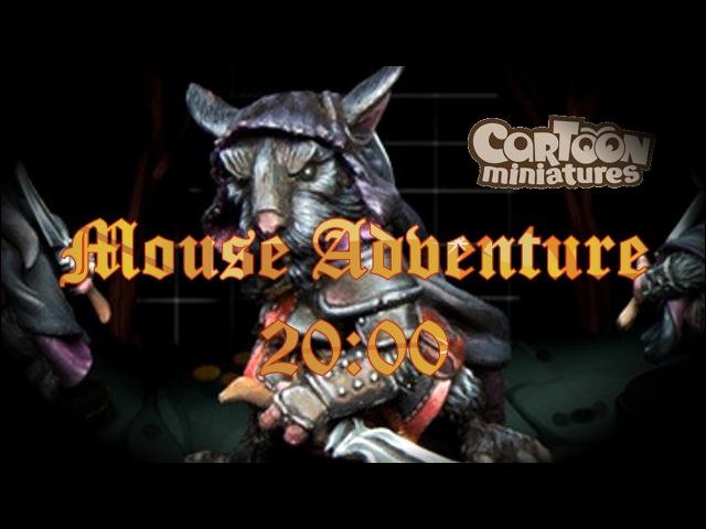 Мышиные приключения начинаются! | Cartoon Miniatures: Mouse Adventure
