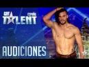 Elihú sorprende con sus piruetas Audiciones 6 Got Talent España 2016