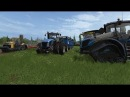 Синий трактор Собираем урожай с Левой Мультик для детей