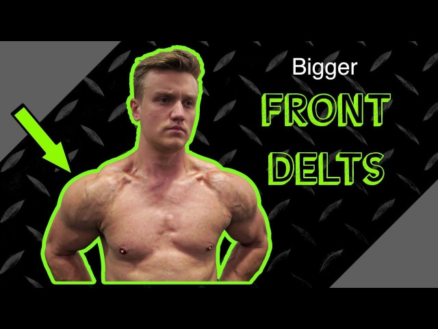 Intense Front Delt Shoulder Finisher Routine | Anabolic Superset