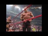 Scott Steiner &amp Test With Stacy Keibler vs Kane &amp Rob Van Dam Tag Team Titles Match Raw 05.05.2003