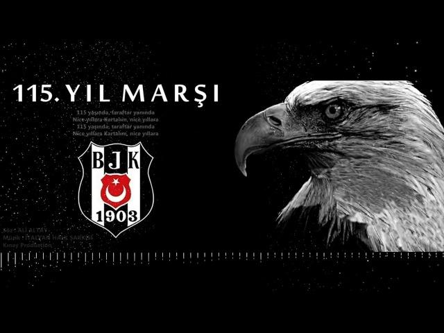 Beşiktaş 115 Yıl Marşı Stüdyo Ali Altay Beşiktaş115Yaşında