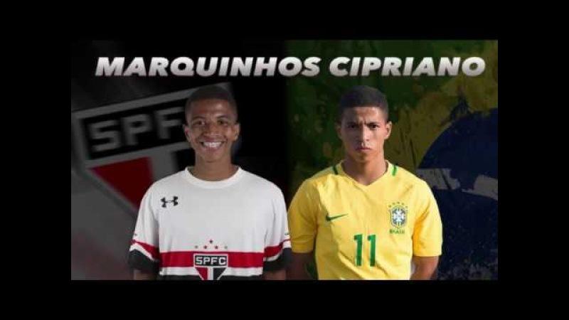 Шахтер близок к договоренности с юным фланговым нападающим Сан-Паулу Маркиньосом Сиприано.