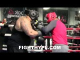MIKEY GARCIA LIGHTS UP 300-POUND BEHEMOTH IN SPARRING DOESN'T LAST 2 ROUNDS