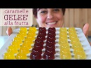 Caramelle Geleè alla Frutta Ricetta Facile Fruit Jelly Candies Easy recipe