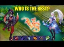 HANABI VS MIYA FULL ATTACK SPEED - WHO IS THE BEST MARKSMAN? EXCLUSIVE EPIC SKIN GIVEAWAYS