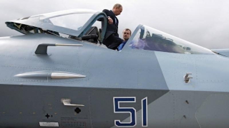 Путин сел в истребитель и лично погонял американцев.