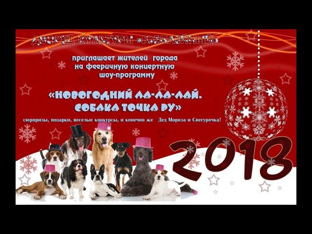 29.12.2017 год. Шоу программа «Новогодний Ла-Ла-Лай. Собака точка ру».