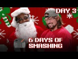 DAY THREE AJ STYLES shatters the ATARI JAGUAR CONTROLLER! - 6 Days of Smashing