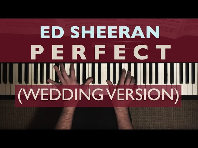 Ed Sheeran Perfect Wedding Version featuring Pachelbel's Canon