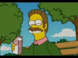Milk on Mustache Flanders #coub, #коуб