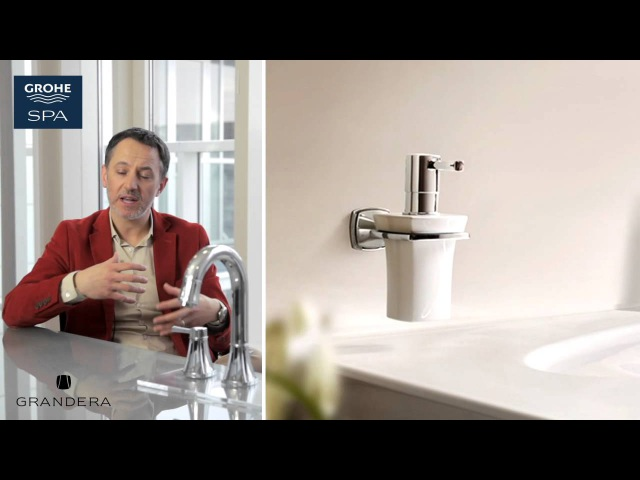 The GROHE Grandera™ collection Welcome Home