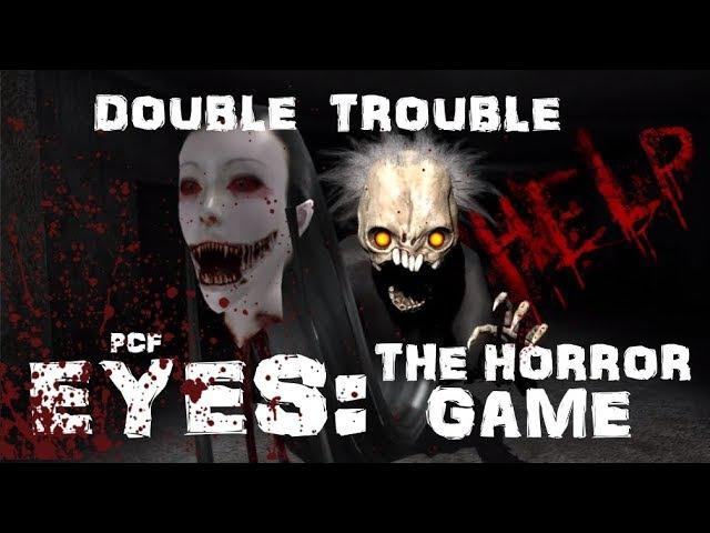 ТРОЙНАЯ НЕПРИЯТНОСТЬ \ Eyes: The horror game \ PixelCakesFan