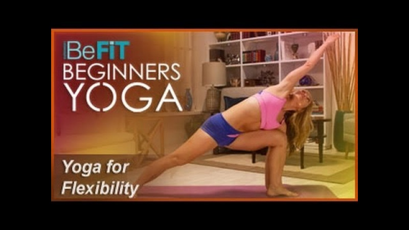 BeFiT Beginners Yoga: Beginners Yoga Stretching Flexibility Workout   Level 1- Kino MacGregor
