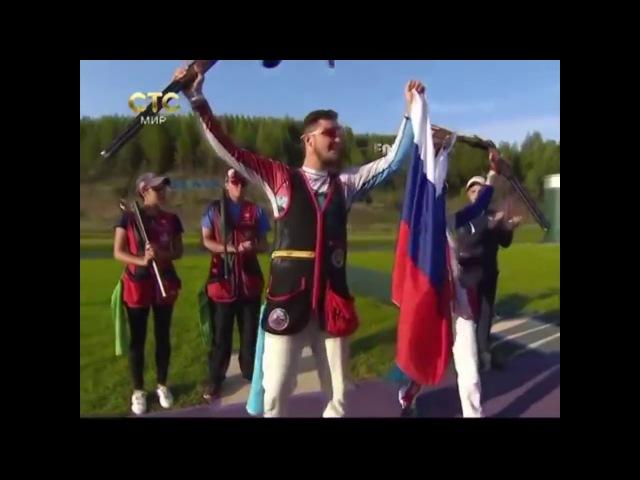 Надежда Коновалова после чемпионата мира. СТС
