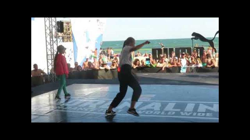 Adrenaline dance fest 2017 house 1 4 Anna Mariya vs Alu
