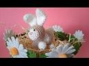 Coniglietto Segnaposto Amigurumi Tutorial - Rabbit Bunny Crochet - Conejo Crochet