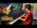 Avengers Infinity War Official Trailer Music Piano Cover