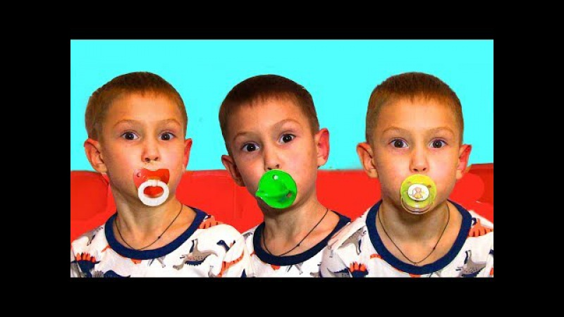 Learn Colors with baby - Songs for kids with colored Pacifiers. Bài Hát cho trẻ em ở việt