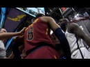Jordan Clarkson Quincy Acy Scuffle Nets vs Cavaliers February 27 2018 2017 18 NBA Season