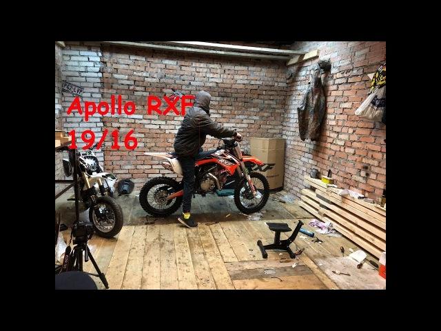 Новый питбайк Apollo RXF Freeride 19/16
