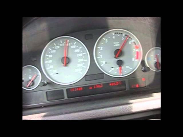 BMW X5 4.8iS 0-220km/h acceleration
