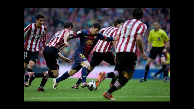 Leo Messi goal vs Athletic Bilbao With Ray Hudson Commentary HD