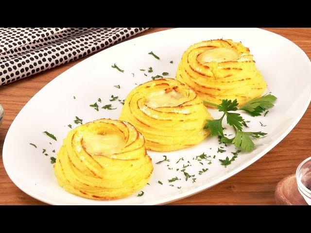 Картофельные Гнезда С Сыром: Простейшая Закуска С Нежной Начинкой