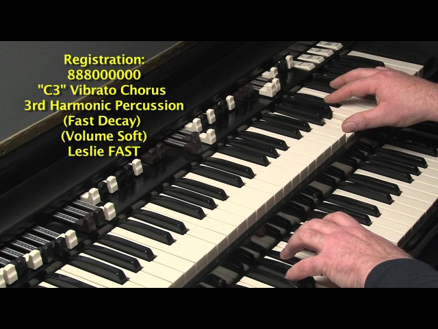 LESSON 25 - HOW TO PLAY JAZZ ROCK LICKS ON A HAMMOND B3 or C3 ORGAN