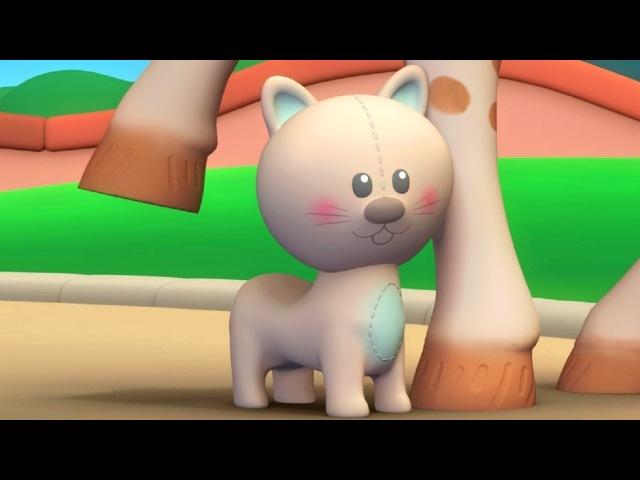Жираф Софи - Животные 🐻🐢🦒🐈 - Мультик 4 - Обучающие мультфильмы для малышей 0-4