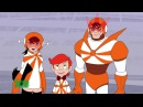 Super Robot Monkey Team Hyper Force Go! 5 Episode The Sun Riders FullHD