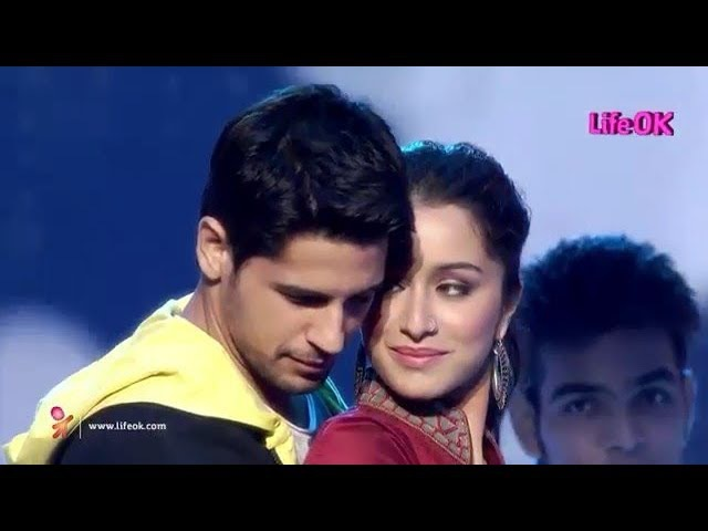 Sidharth Malhotra And Shraddha Kapoor Performance Life Ok Screen Awards 2014 » Freewka.com - Смотреть онлайн в хорощем качестве