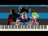 Ultimate Battle III (Goku VS Kefla Final Fight) - Dragon Ball Super (Piano Tutorial + Anime)