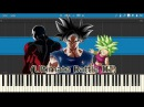 Ultimate Battle III (Goku VS Kefla Final Fight) - Dragon Ball Super (Piano Tutorial Anime)